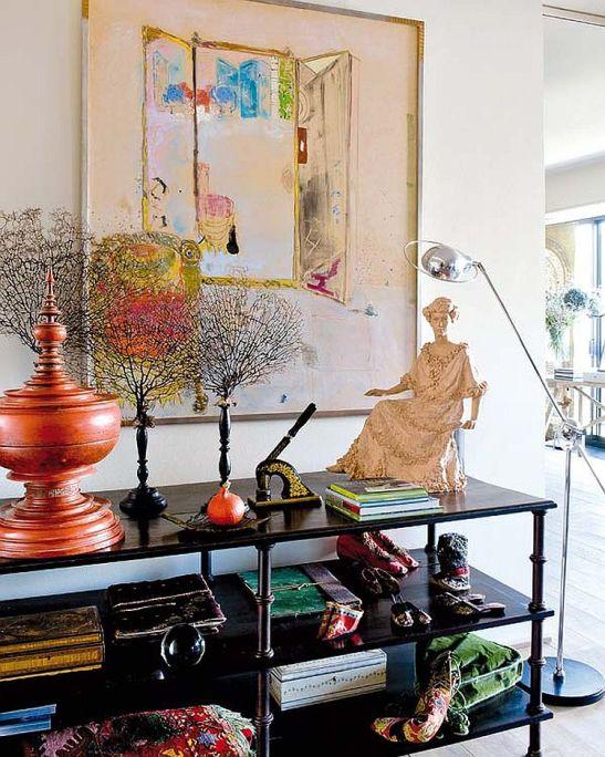 adelaparvu.com despre casa artistei Isabelle Deborchgrave foto Micasa (6)