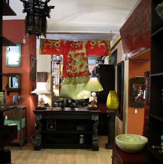 Decoratiuni textile chinezesti