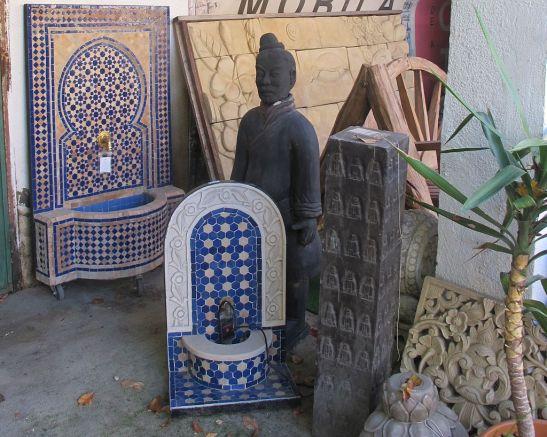 Fantani marocane si statuete asiatice
