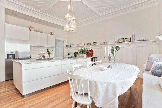 adelaparvu.com despre interior elegant chalet elvetian designer  Anne Cecilie Ranke (11)