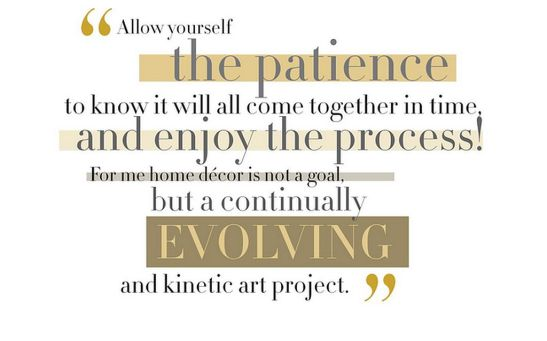 Citat din Decorate designer Amy Butler Copyright Chronicle Books.