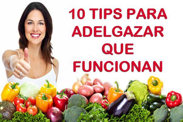 10 Consejos para adelgazar que funcionan