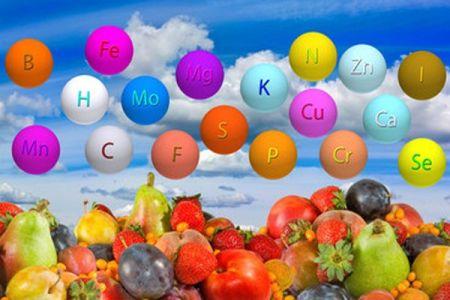 Minerales y vitaminas para bajar de peso