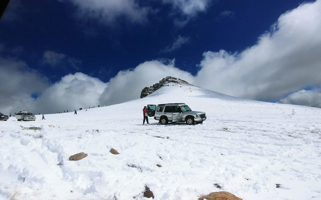 Matroosberg in the Snow: a 4×4 delight