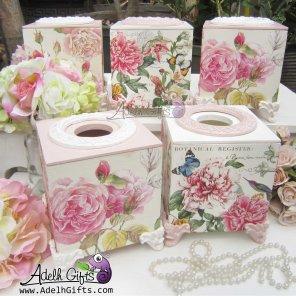 Tissue Box untuk meja Cafe