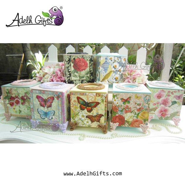 gerombolan cocktail tissue box