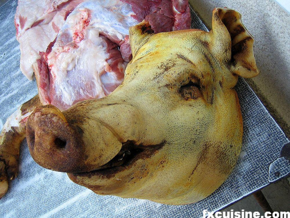 cap de porc