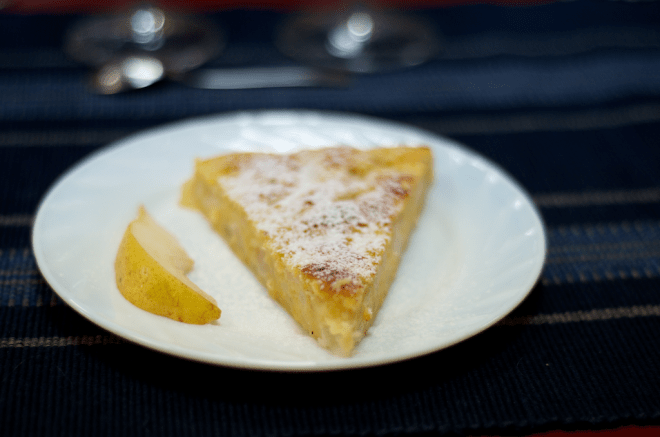 Desert - prăjitură cu pere