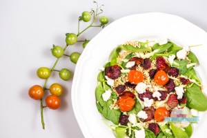 Salata sfecla si quinoa