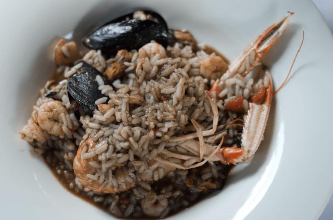 risotto fructe de mare