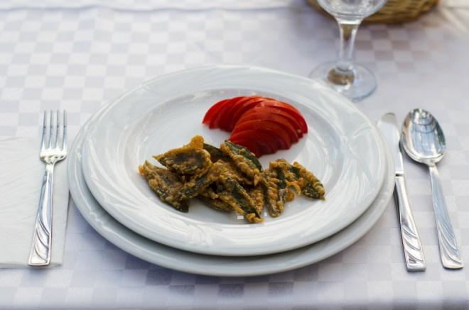 aperitiv salvie in tempura