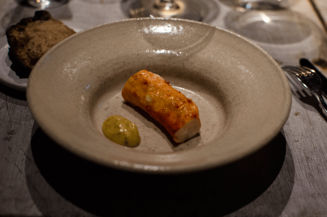 king crab burnt cream