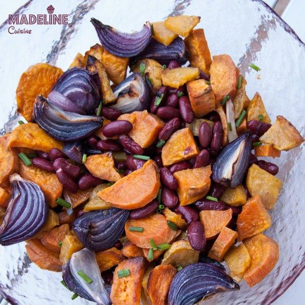 Salata-de-cartofi-dulci-si-fasole