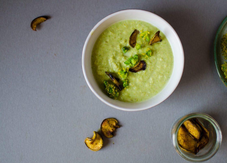 supa de mazare cu broccoli_