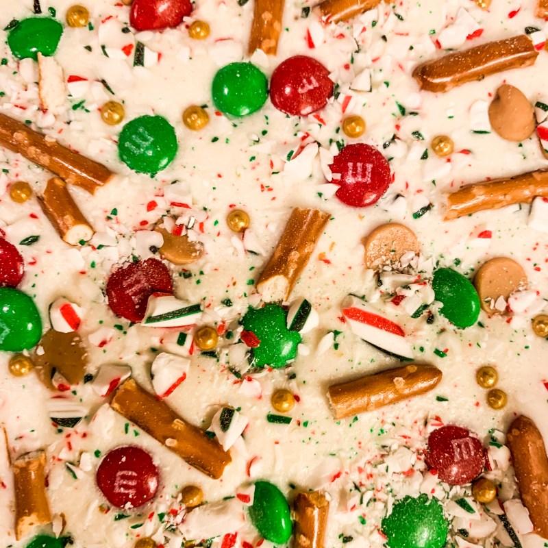 White Chocolate Christmas Bark