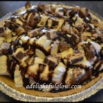 Snicker's Ice Cream Pie