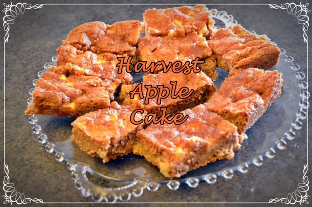 Harvest Apple Cake