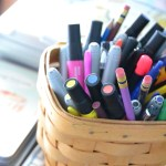 A Basket of Pens and Pencils and Markers, Oh My!