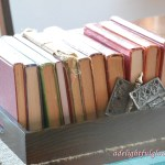 Books Tablescape