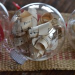 Christmas Ornaments ~ Glass and Paper