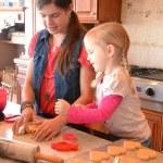 Valentine Cookie Making