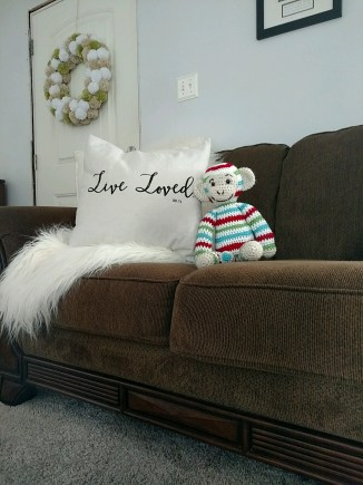 Live Loved Pillow