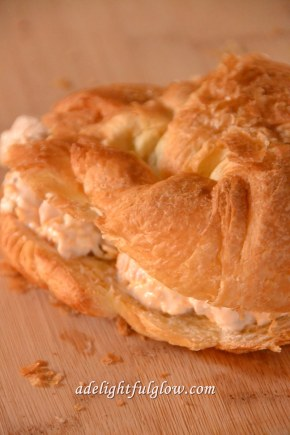 Savory Chicken Crescent Sandwiches