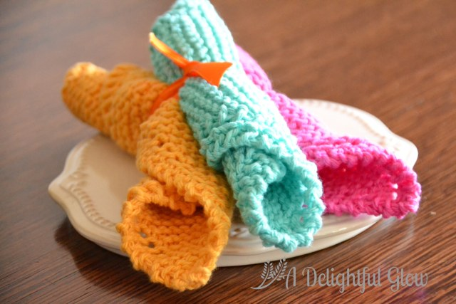 Bright Dishcloths