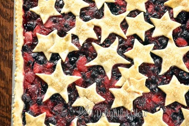 Berry and Stars Pie