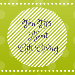 Ten Tips About Gift Giving