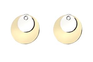 Adeline Cacheux Jewelry Design Créoles argent bronze