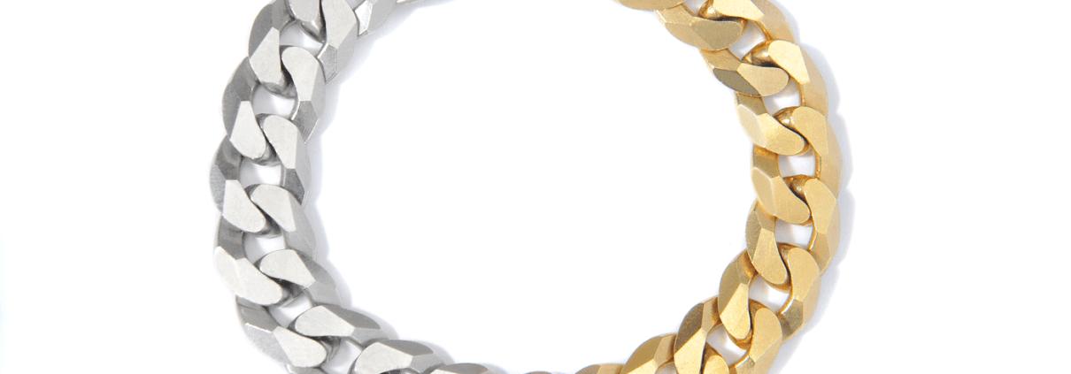 Adeline Cacheux Jewelry Design bracelet gourmette vogue