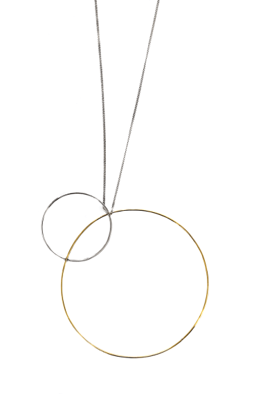 Adeline Cacheux Jewelry Design Pendentif Argent Or 18 carats