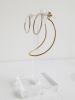 Adeline Cacheux Jewelry Design boucles d'oreilles bi-matières