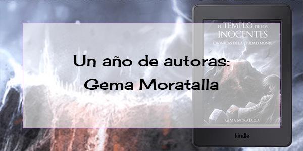 Un año de autoras: Gema Moratalla