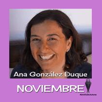 Un año de autoras - Ana González Duque