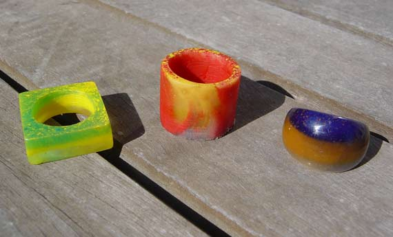 resin rings 1 2 and 3