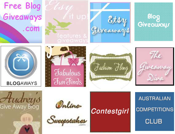 My Favourite Giveaway blogs