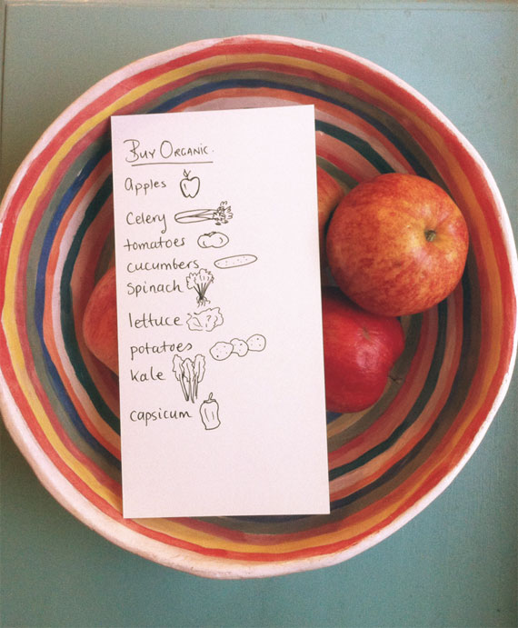 fruit & veg you should buy organic