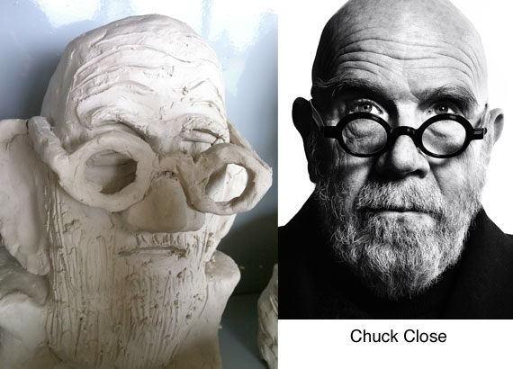 chuck-close-clay-bust