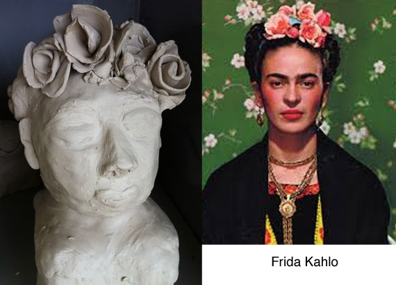 frida-kahlo-clay-bust