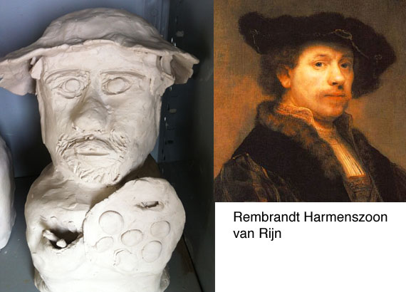 rembrandt-clay-bust