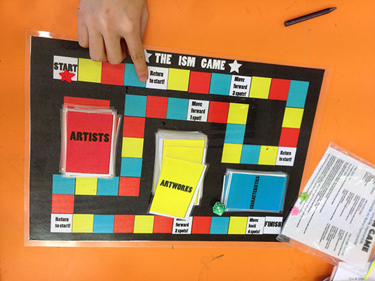 art-revision-board-game