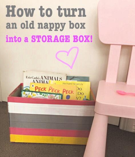 Duct tape storage box