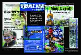 Miracle Camp Support Card Design