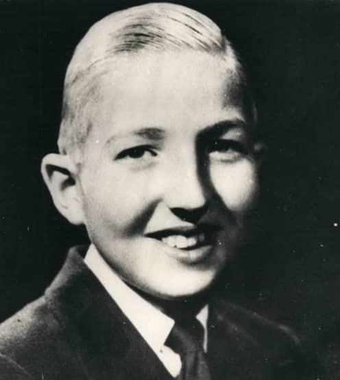 Infant Alfonso de Borbón (*1941-†1956)