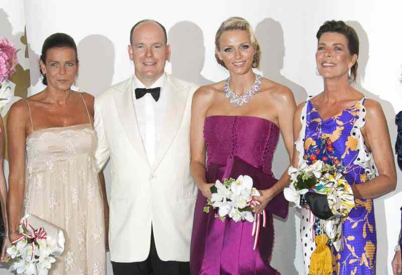 Die Fürstenfamilie von Monaco