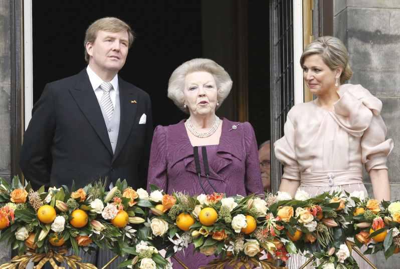 Königin Maxima, Prinzessin Beatrix und König Willem-Alexander