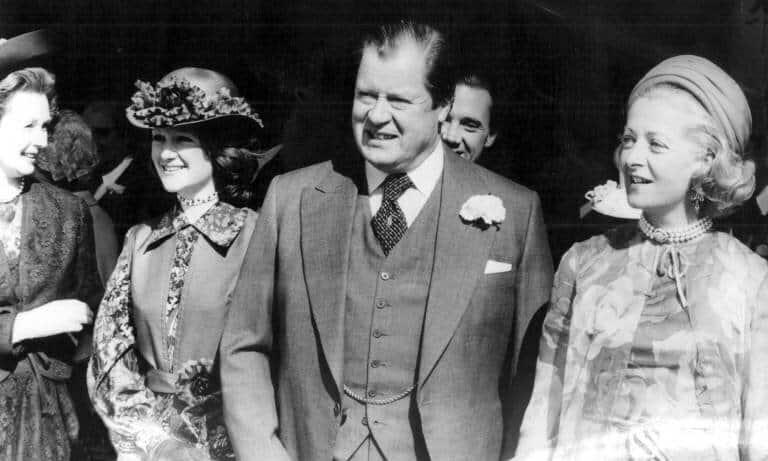 Die Eltern von Prinzessin Diana: Frances und edard John Spencer