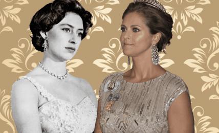 PRinzessin Margaret und Prinzessin Madeleine